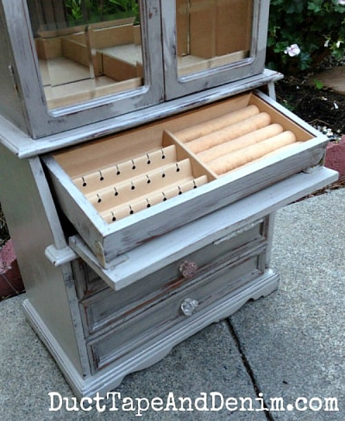 Finished-jewelry-cabinet-painted-in-Cece-Caldwells-Seattle-Mist-DuctTapeAndDenim.com_