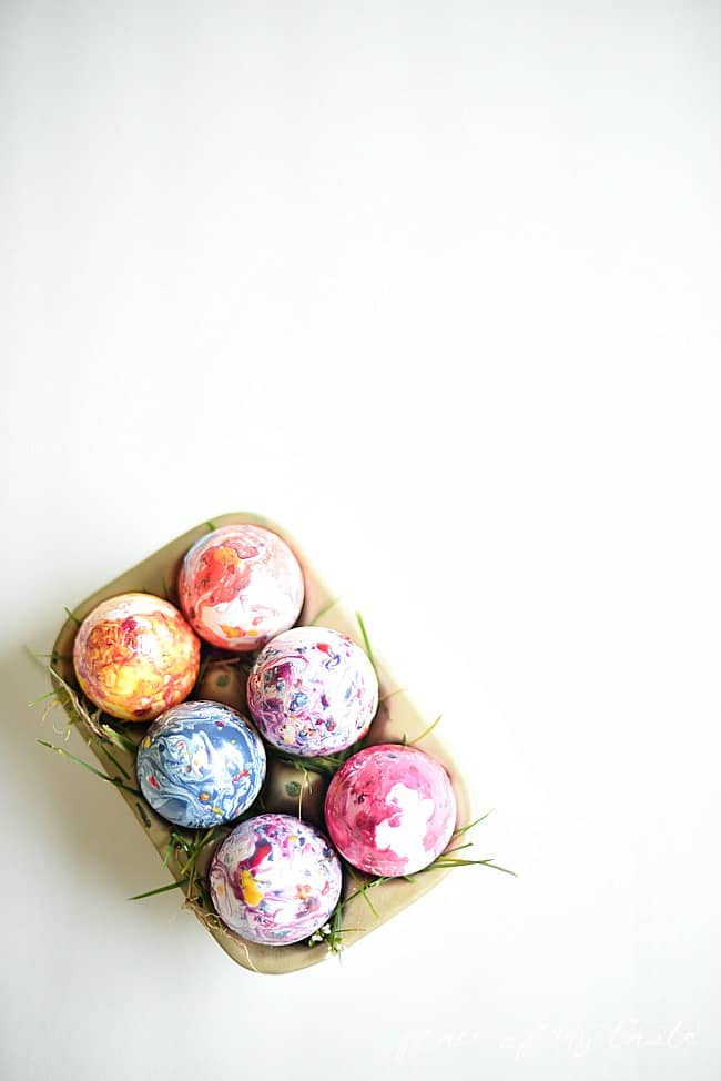 Marbled Easter Eggs 8
