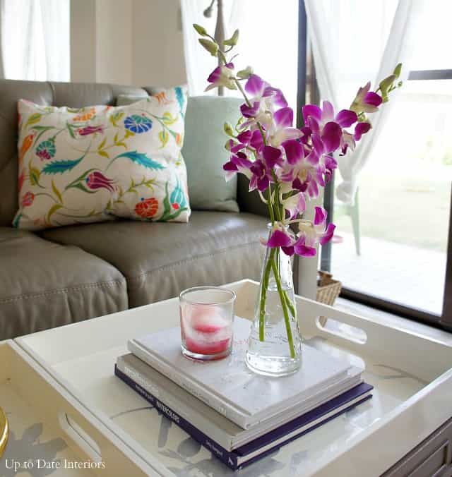 purple orchids for Spring interior decor