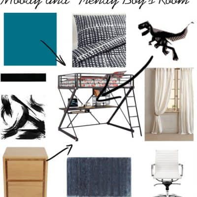 Moody and Trendy Boy's Room Inspiration