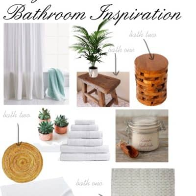 Bright and Natural Bathroom Inspiration