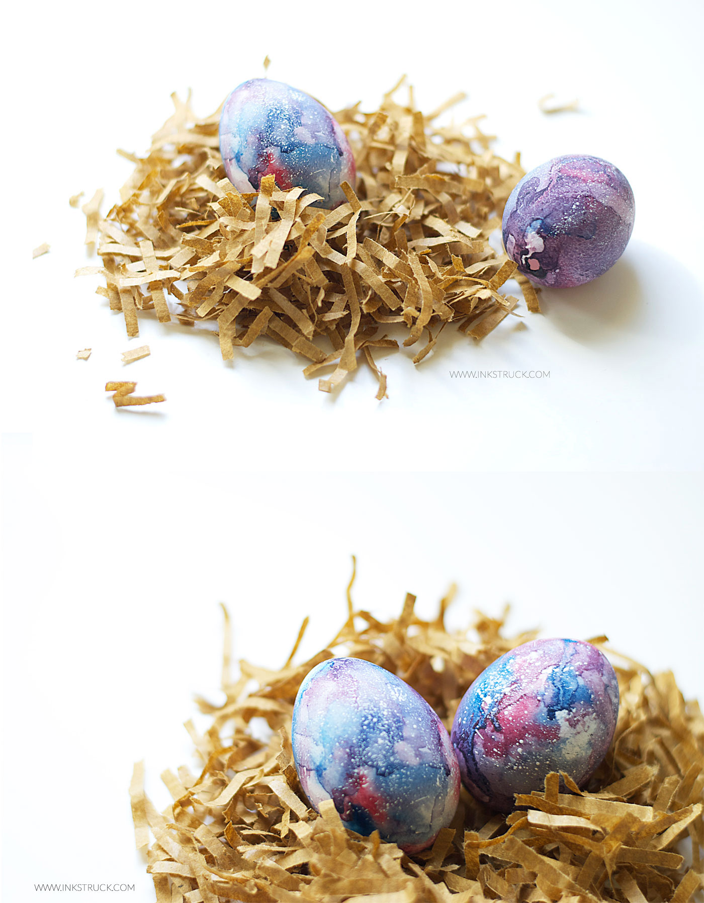Diy Galaxy Painting On Easter Egg 13