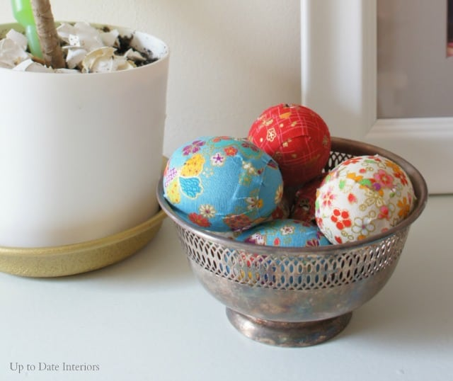 modern easter eggs with dollar store washi ribbon tape