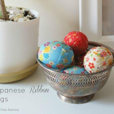 DIY Japanese Ribbon Eggs