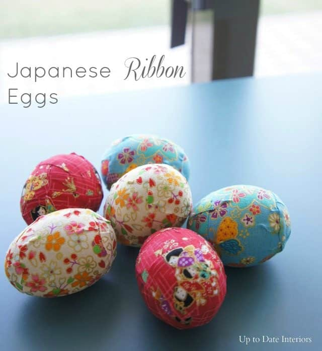 japanese inspired washi tape Easter eggs