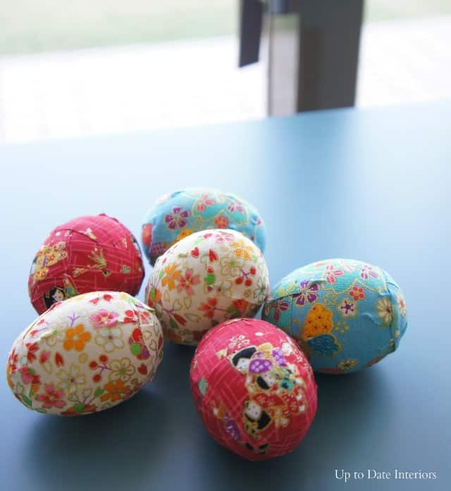 an easy modern easter egg DIY