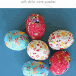 Ribbon Easter Eggs Pinterest Black