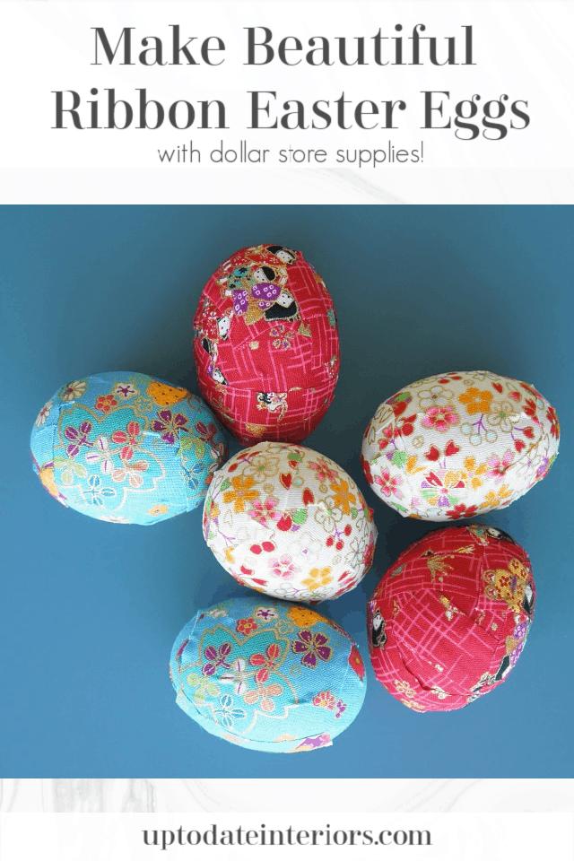 Ribbon Easter Eggs Pinterest Black