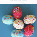 Ribbon Easter Eggs Pinterest Blue