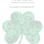 Shamrock Craft Ideas Pinterest Green