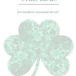 Shamrock Craft Ideas Pinterest Green