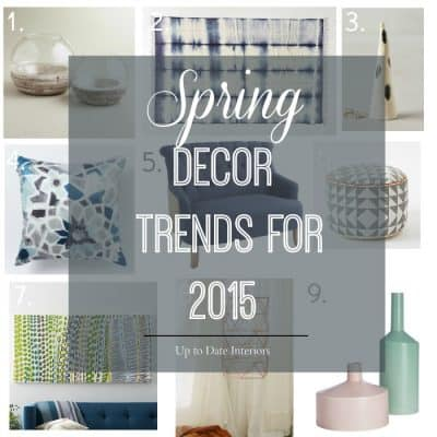 Spring Decor Trends 2015