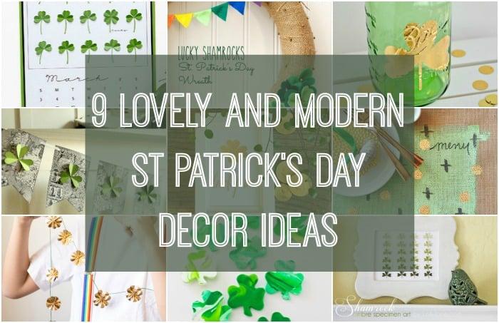 st patricks' day decor ideas