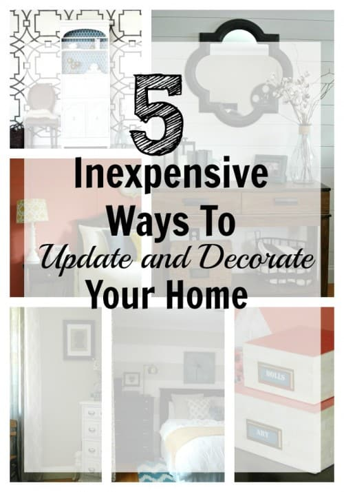 5 ways to decorate your home 1