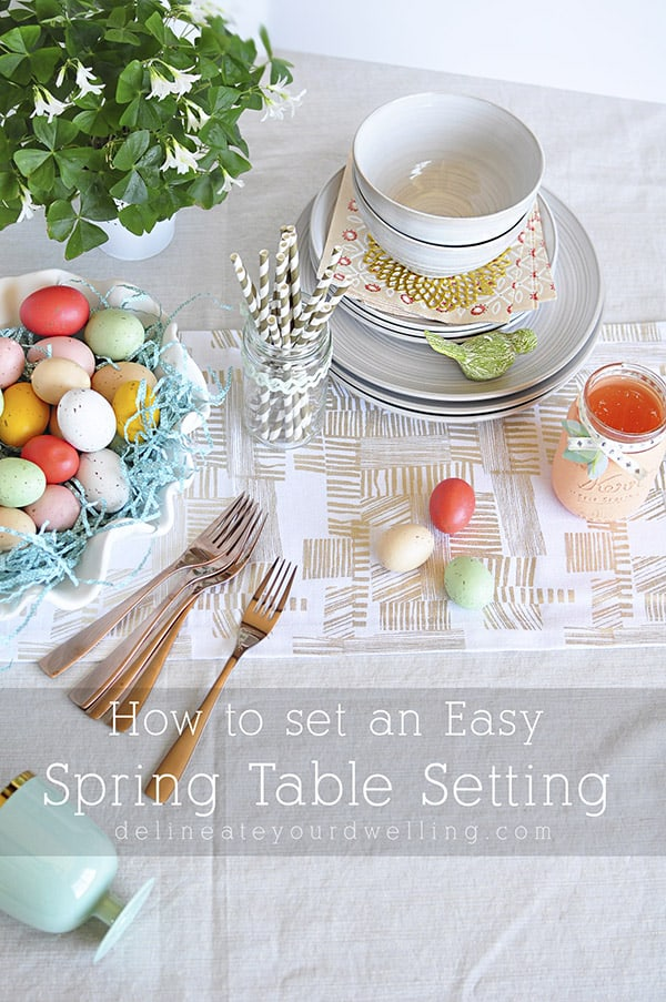 Easy-Spring-Table-Setting