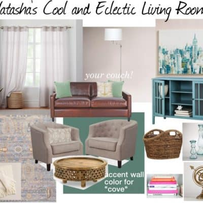 Cool and Eclectic Mood Board: Design at Your Door