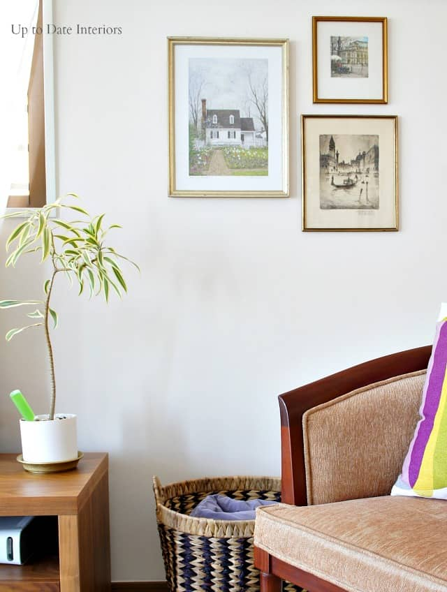 How to hang art without putting holes in the wall and other renter friendly decorating tips