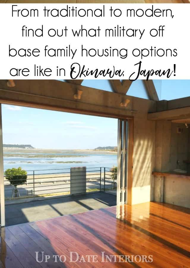 Japanese off base housing options