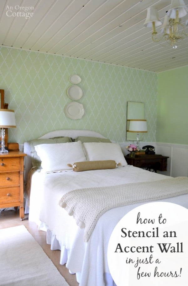 How-to-Stencil-and-Accent-Wall-in-just-a-few-hours