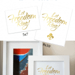 Fourth Of July Printable Pinterest Blue