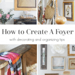Create A Foyer Pinterest Black