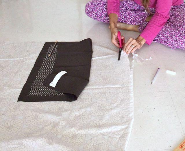 cutting-fabric