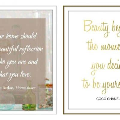 Free Printables for your home and closet!