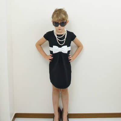 audrey hepburn costume for little girl