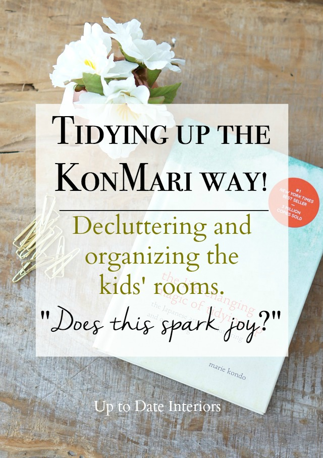 How to declutter kids rooms and keep them organized.