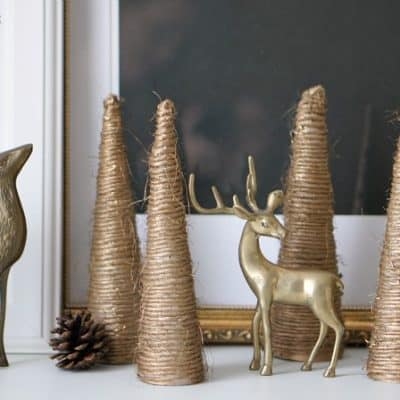 Gold Twine Trees