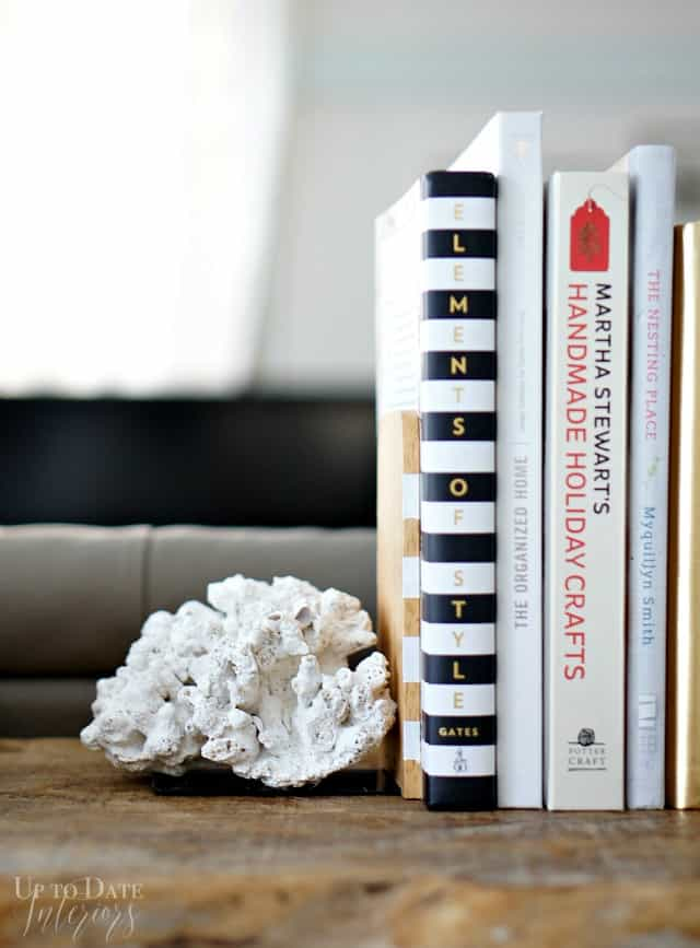Diy Coral Bookends Up To Date Interiors
