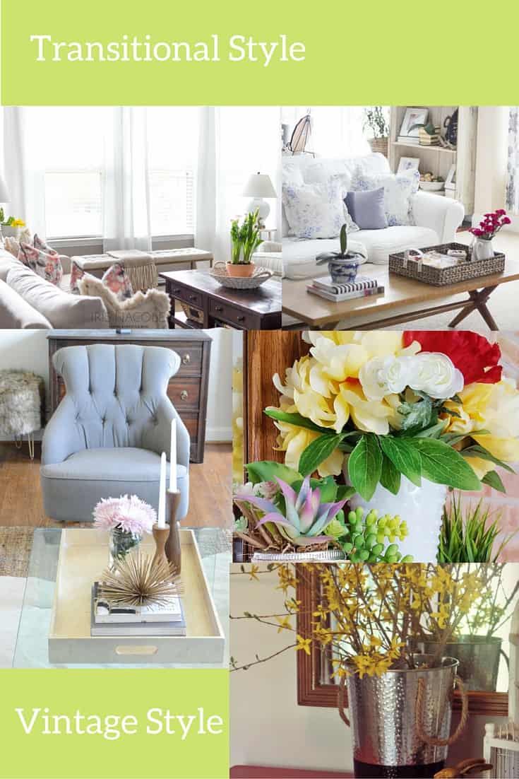 Transitional Style Spring Home Tours