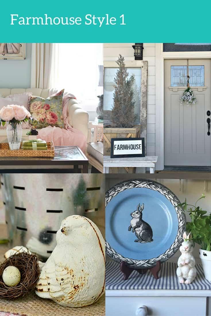 Farmhouse Style Spring Home Tours