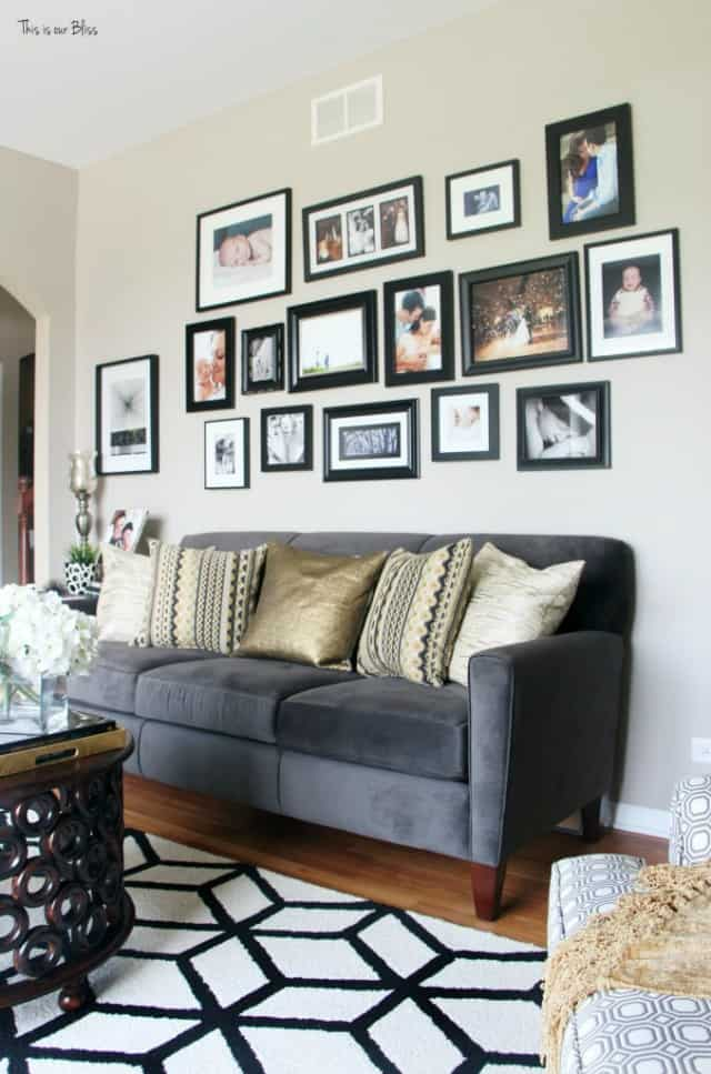 Unique And Fresh Ways To Display Family Photos Up To