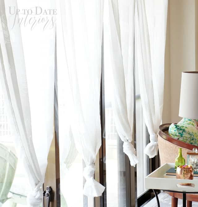 Knotted curtains for Spring