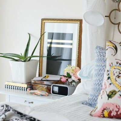 eclectic spring tour bedside table