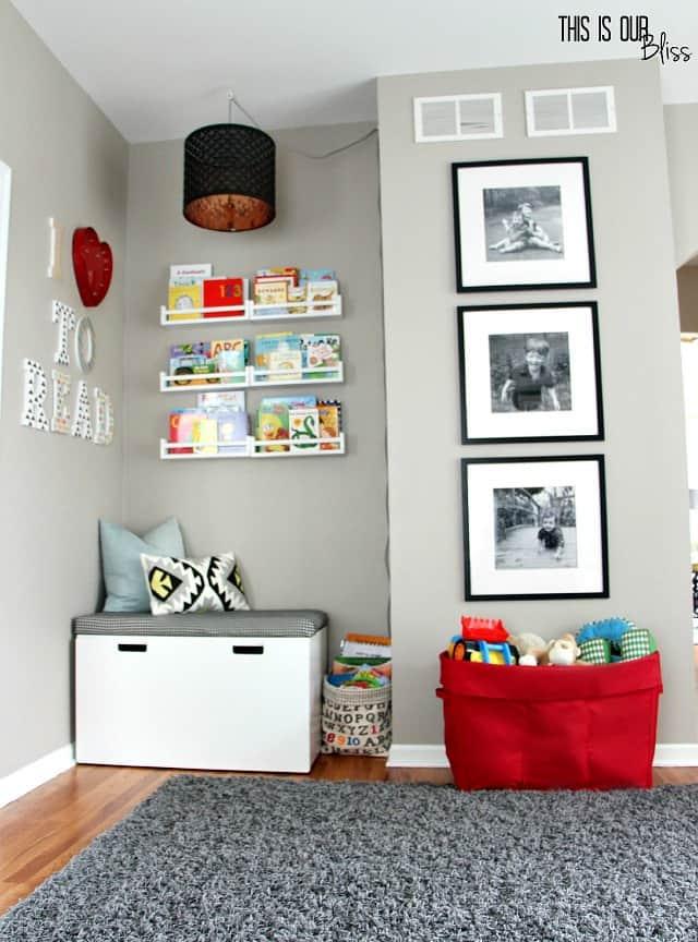playroom family photos