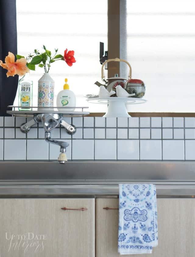 Spring home tour kitchen