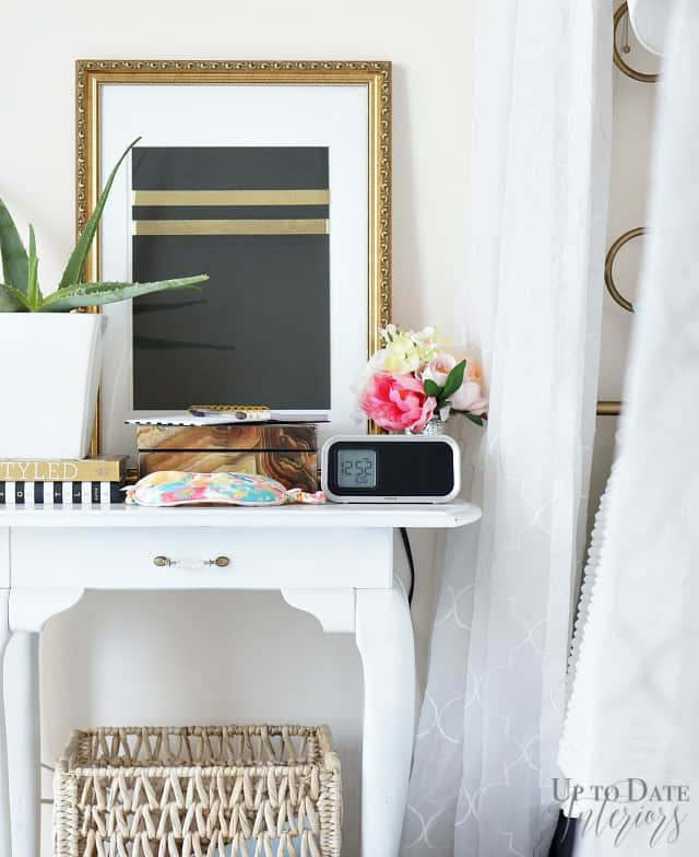spring home tour bedroom styling