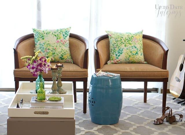 green spring decor