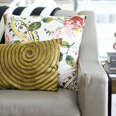 mix throw pillows st patricks day decor