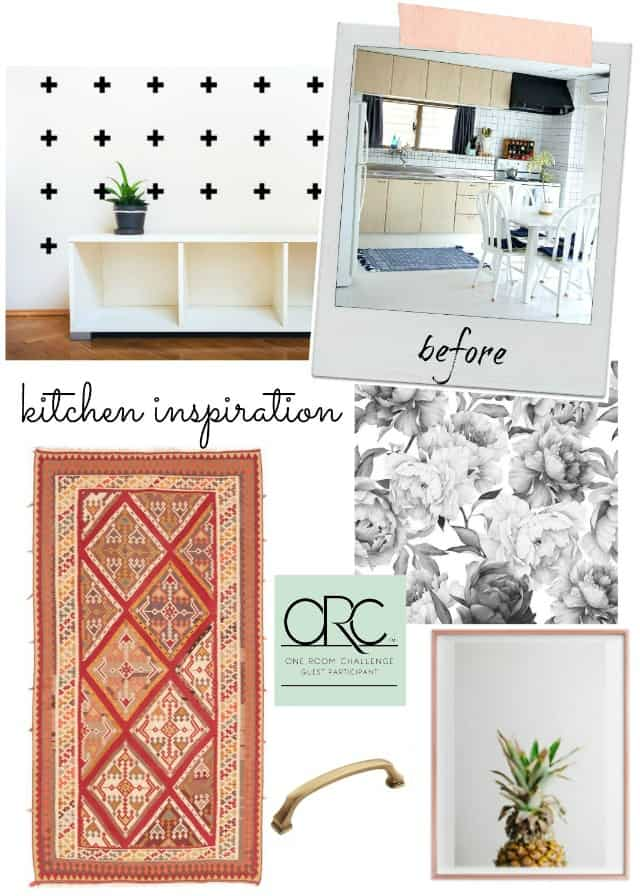 one room challenge kitchen inspiration