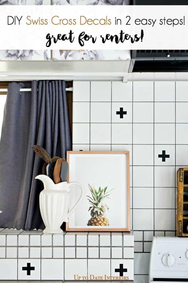 kitchen-pineapple-swiss-cross-decals-diy-renter-friendly