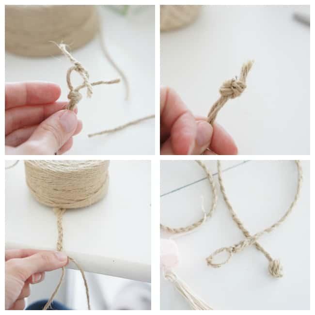 tie back jute braid
