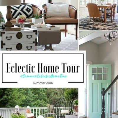 Eclectic Summer Home Tour and Blog Hop 2016