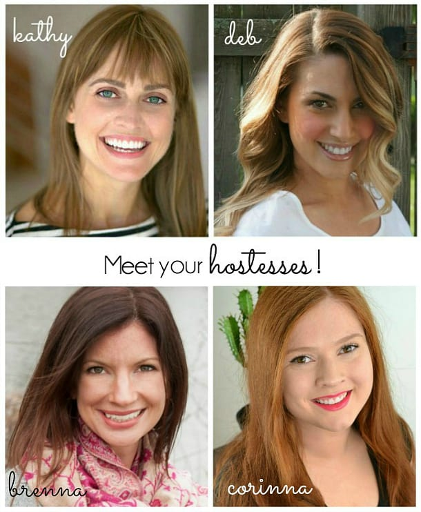 link party blogger hostesses