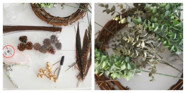 eucalyptus wreath supplies