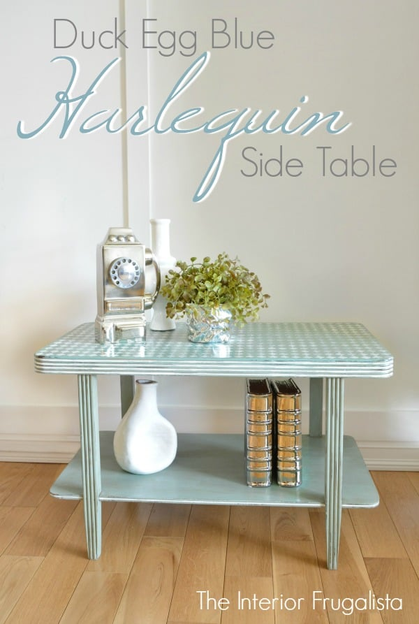 Distressed Harlequin Table Graphic