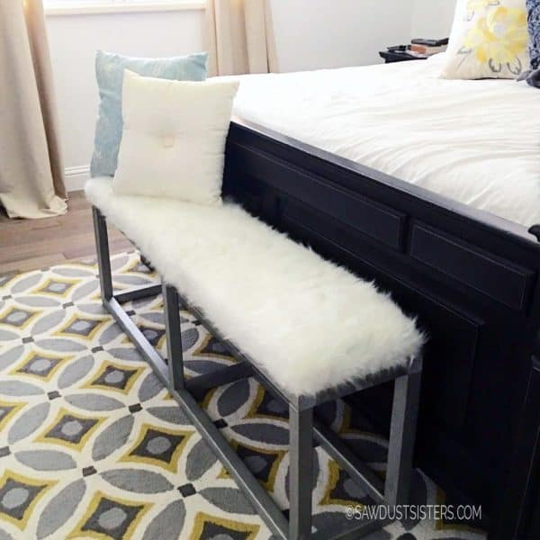 Upholstered-Bedroom-Bench-with-faux-metal-frame-1024x1024