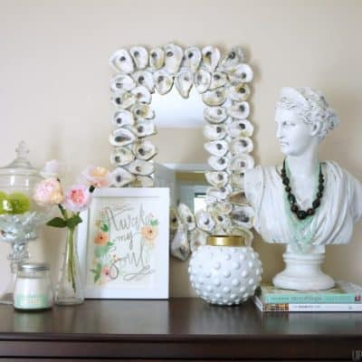 Styling Tips and Tricks for Shelves and Tabletops
